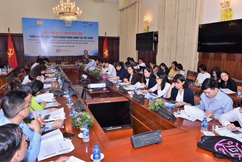 "Symposium on ""Orientations for Green Bank Development in Vietnam"""